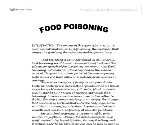 Food poisoning essay health png 612x523